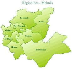 Site de la Direction Régionale de Fès-Meknès