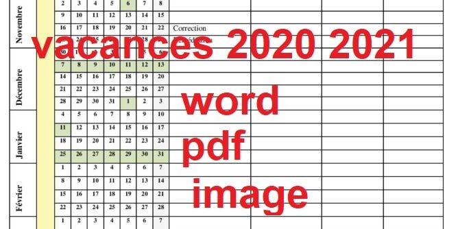vacances maroc 2020 2021