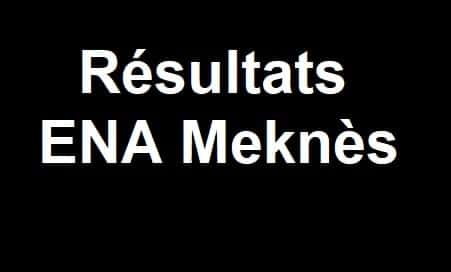 résultats ena meknes 2021