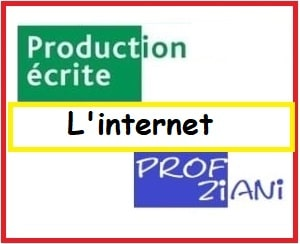 production ecrit esur internet texte argumentatif
