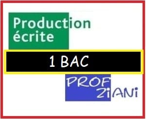 production ecrite 1 bac